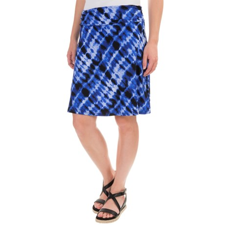 Dakini Side-Ruched Skirt (For Women)