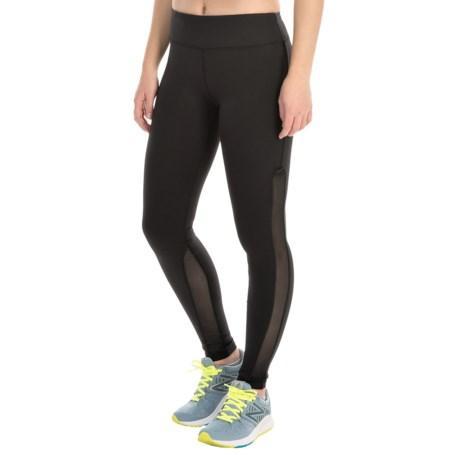 Kyodan Side Mesh Running Tights - UPF 40+ (For Women)