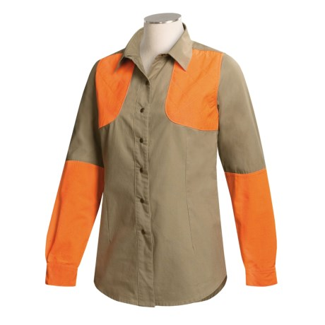 Browning Shooting Shirt - Canvas, Long Sleeve (For Women)