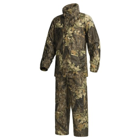 Mossy Oak Apparel Rainsuit with Bibs - Camo (For Men)