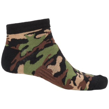 K. Bell Sport Camo Socks - Ankle (For Men)