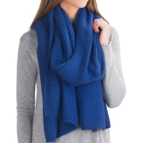 Chaos Lux Collection A-Line Wrap - Cashmere Blend (For Women)