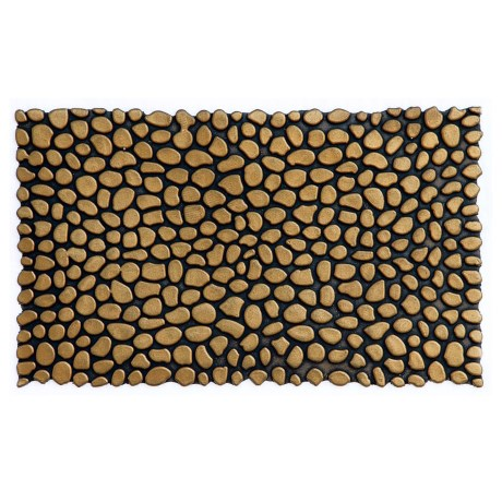 Home and More Pebble Rubber Doormat - 18x30""