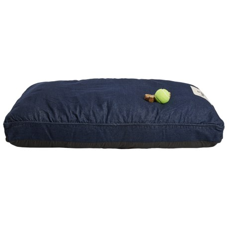 "Happy Tails Denim Wash Dog Bed - Large, 40x28"""