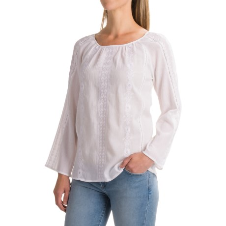 Catherine Catherine Malandrino Catherine Malandrino Peasant Blouse - Long Sleeve (For Women)