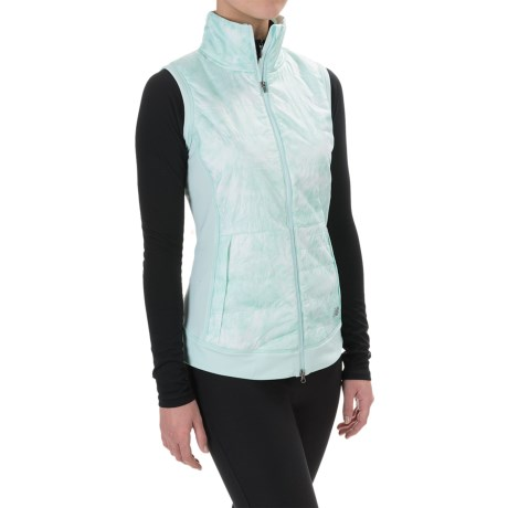 New Balance Polartec® Hybrid Vest - Insulated (For Women)