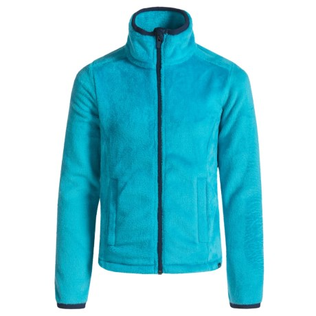 RBX Plush Zip-Front Jacket (For Big Girls)