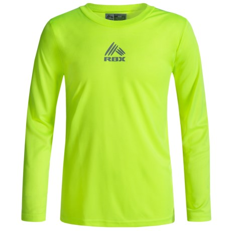 RBX Active T-Shirt - Crew Neck, Long Sleeve (For Big Boys)
