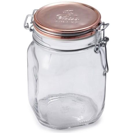 Bormioli Rocco Fido Glass Jar with Lid - 33.75 oz.