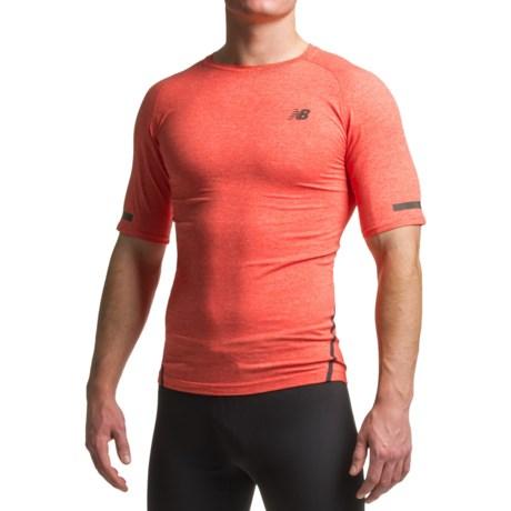 New Balance Trinamic T-Shirt - Crew Neck, Short Sleeve (For Men)