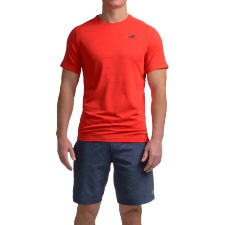 New Balance Max Speed Shirt - Short Sleeve (For Men)