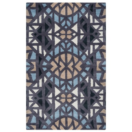 Rizzy Home Bradberry Downs Area Rug - 5x8', Hand-Tufted Wool