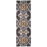 """Rizzy Home Bradberry Downs Floor Runner - 2'6""""x8', Hand-Tufted Wool"""