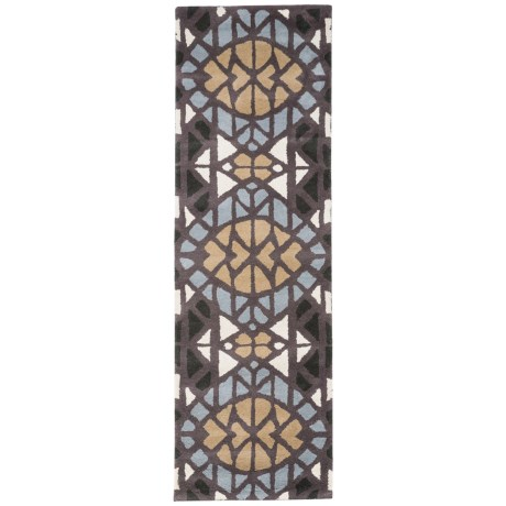 "Rizzy Home Bradberry Downs Floor Runner - 2'6""x8', Hand-Tufted Wool"
