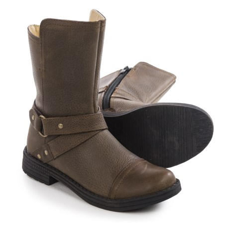 Umi Chiara 2 Leather Boots (For Little and Big Girls)