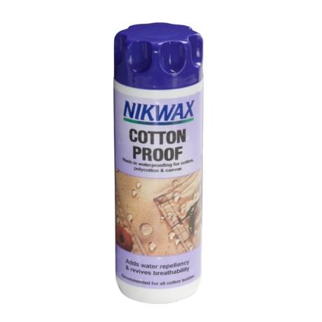 Nikwax Wash-In Cotton Proof Waterproofing - 10 fl.oz.