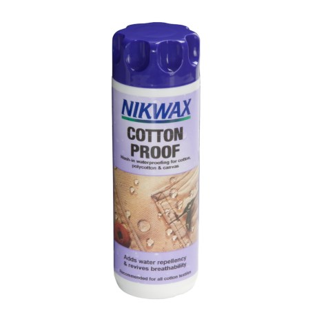 Nikwax Wash-In Cotton Proof Waterproofing - 10 fl.oz.