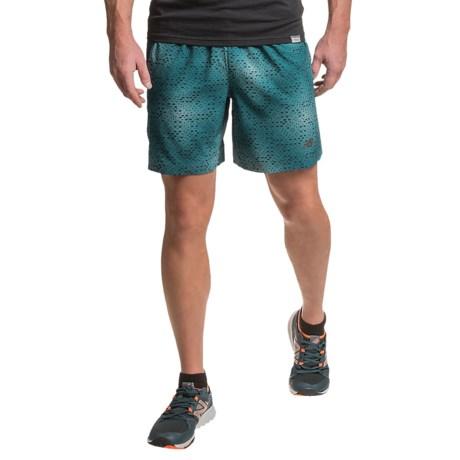 "New Balance Printed Shorts - 7"" (For Men)"