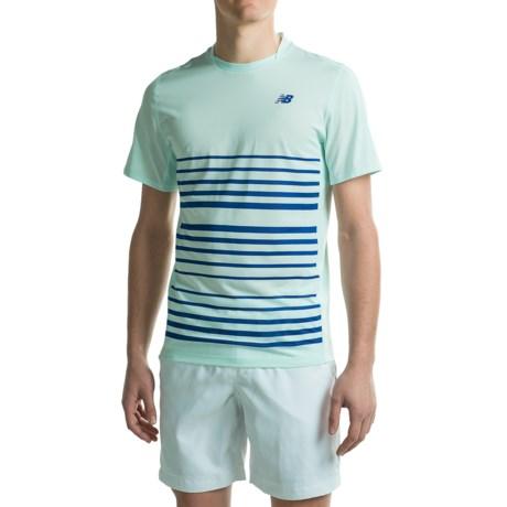 New Balance Tournament Crew Shirt - Short Sleeve (For Men)