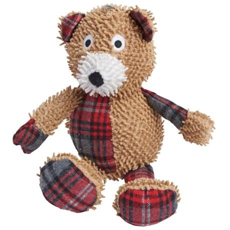 BeGood Plush Tartan Dog Toy