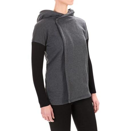 525 America Cardigan Hoodie Sweatshirt (For Women)