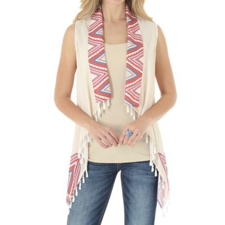 Wrangler Chiffon Vest (For Women)