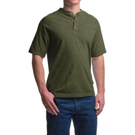 Wolverine Burke Henley Shirt - Short Sleeve (For Men)