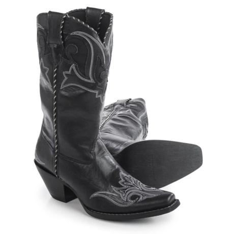 "Durango Peek-a-Boot Cowboy Boots - 11"", Snip Toe (For Women)"