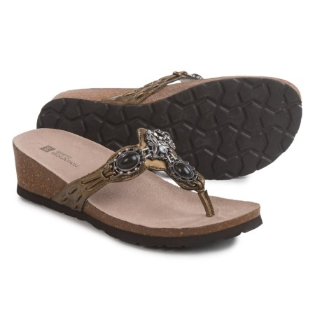 White Mountain Cardenia Sandals (For Women)