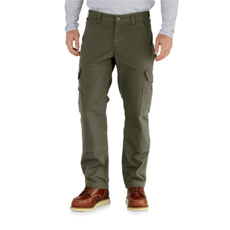 Carhartt Ripstop Cargo Work Pants - Flannel Lined, Factory Seconds (For Men)