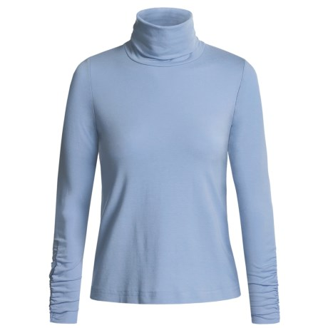 Sno Skins Turtleneck - Long Sleeve  (For Women)