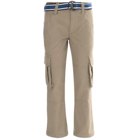 FRENCH TOAST French Toast Twill Cargo Pants (For Little and Big Boys)