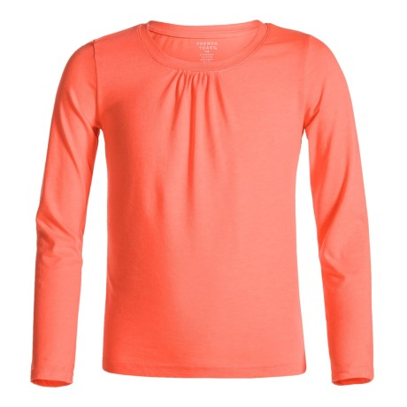 French Toast Crew Shirt - Long Sleeve (For Little and Big Girls)