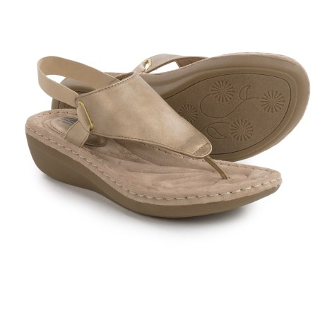 Cliffs by White Mountain Carmel Wedge Sandals (For Women)