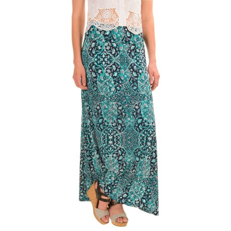 Artisan NY Ogee Faberge Maxi Skirt (For Women)