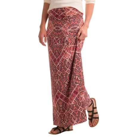 Cynthia Rowley Rayon Maxi Skirt (For Women)