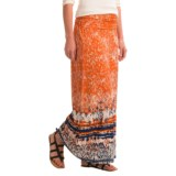 Artisan NY Rolled Desert Maxi Skirt (For Women)