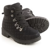 Olivia Miller Girls Olivia Miller Quilted Boots (For Little Girls)