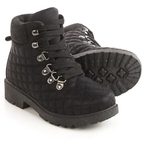 Olivia Miller Girls Olivia Miller Quilted Boots (For Little Girls)