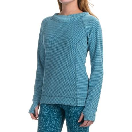 Eddie Bauer Textured Fleece Hoodie (For Women)