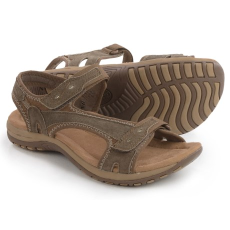Earth Origins Summer Sport Sandals - Suede (For Women)