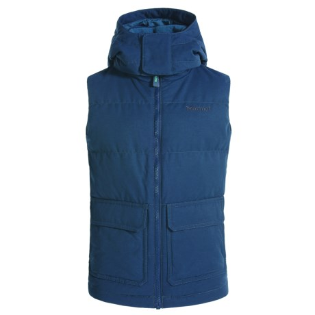Marmot Vancouver Puffer Down Vest - 700 Fill Power, Hooded (For Little and Big Boys)