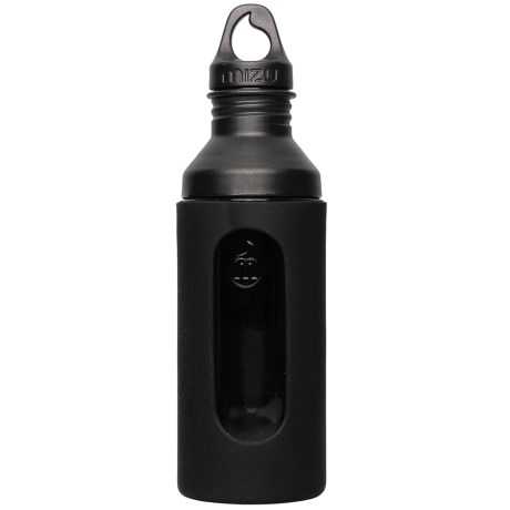 Mizu G7 Glass Water Bottle with Silicone Sleeve