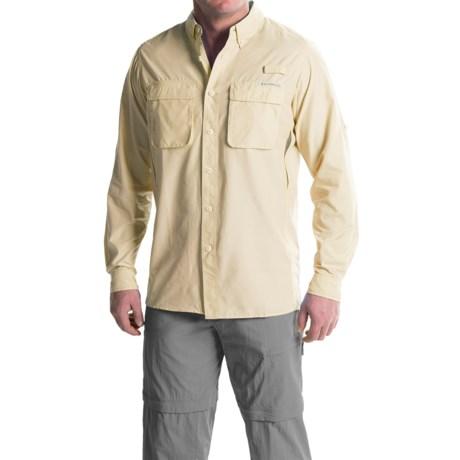 ExOfficio Air Strip Shirt - UPF 30, Long Sleeve (For Tall Men)