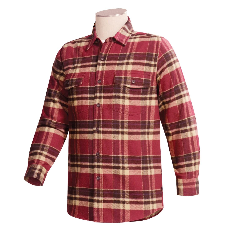 Moose creek brawny plaid shirt for men 18519 save 50 for 9 oz flannel shirt