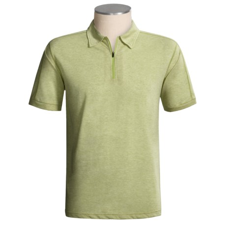 ExOfficio ExO Dri Cricket Zip Shirt - Dri-Release®, Short Sleeve (For Men)