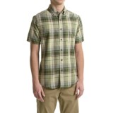 Royal Robbins Go Everywhere Oxford Plaid Shirt - UPF 50+, Short Sleeve (For Men)