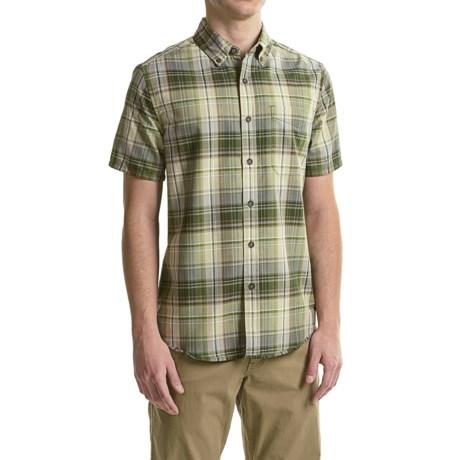 Royal Robbins Go Everywhere Oxford Plaid Shirt - UPF 50+, Short Sleeve (For Men)