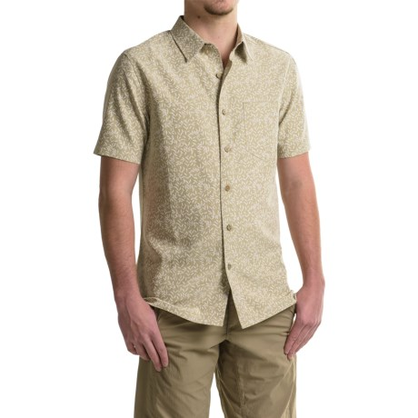 Royal Robbins Printed Button-Front Shirt - UPF 50+, Short Sleeve (For Men)