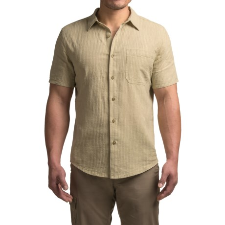 Royal Robbins Liberty Stripes Shirt - Hemp-Organic Cotton, Short Sleeve (For Men)